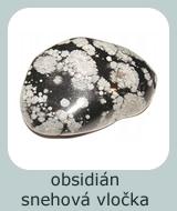 obsidian snehova vlocka